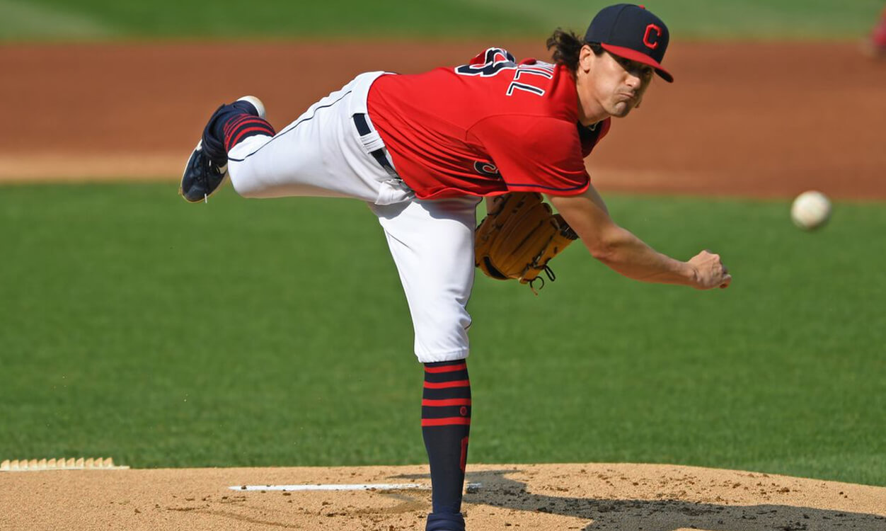 Cal Quantrill Indians Baseball